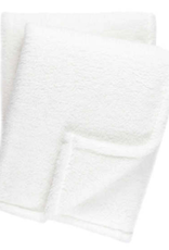 Dash & Albert Heathered Fleece Throw White