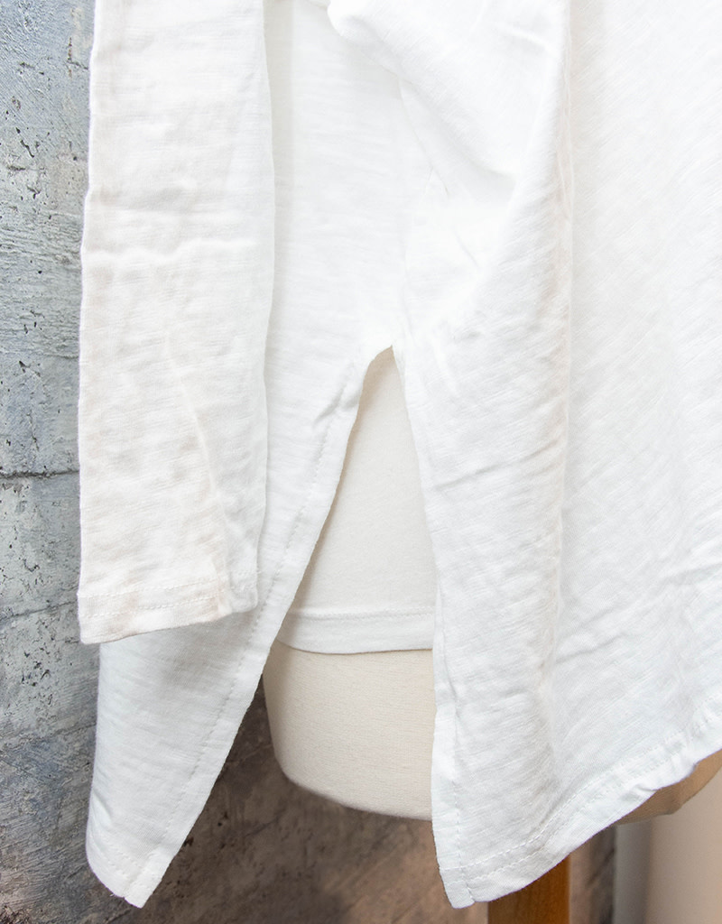 Mer-Sea Catalina Slub Tee Solid White