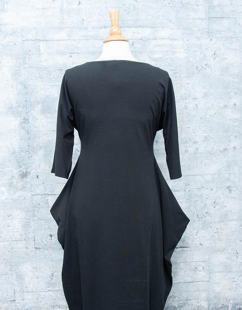 Matthildur Dress Cotton Lycra Black