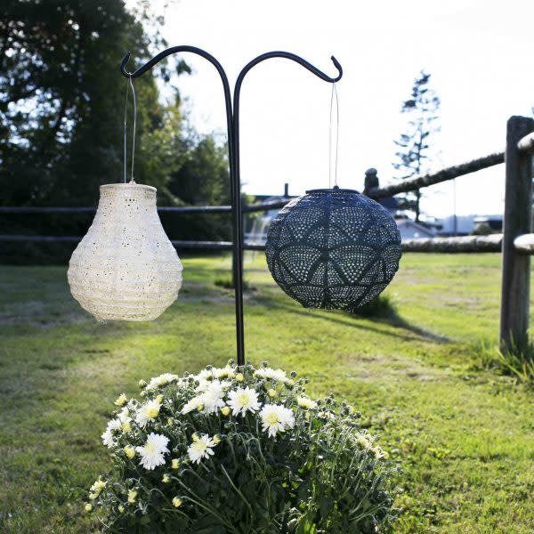 Allsop Home and Garden Stella Globe Wave Punch Ink
