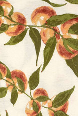 Milkbarn Organic Kerchief Bib Peaches