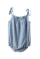 Beetworld Strap Romper Blue Flowers