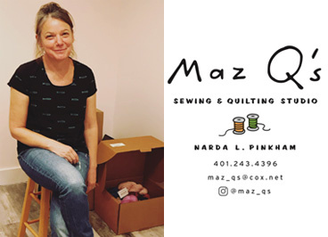 Maz Q's Sewing and Quilting Studio