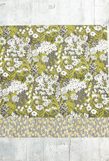 Maz Q's Reversible Napkin Sunflower Grey