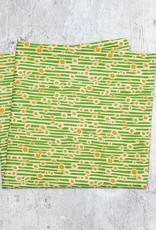 Maz Q's Napkin Sunflower Green