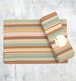 Dash & Albert Zanzibar Stripe Napkin Set of 4