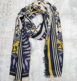 Masai Amira Scarf Oil Yellow