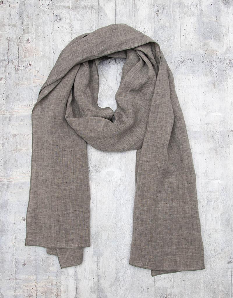 Q-Neel Scarf Linen Grey