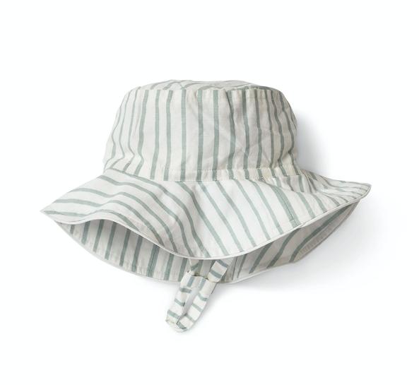 Pehr Designs Bucket Hat Stripes Away Sea