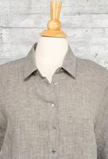 Q-Neel Long Blouse in Grey