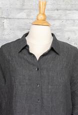 Q-Neel Short Dress in Charcoal