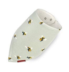 Milkbarn Bamboo Kerchief Bib Bumblebee