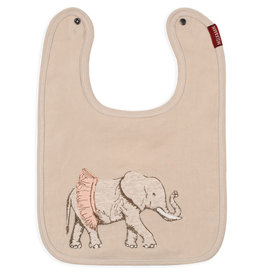 Milkbarn Applique Linen Bib Tutu Elephant