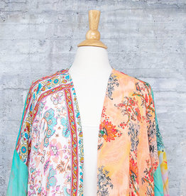 Tolani Kimono Tate Orange with Mask OS