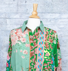 Tolani Blouse Kennedy Green