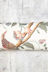 Kreatelier Flower and Bird Pillow 10 x 20in