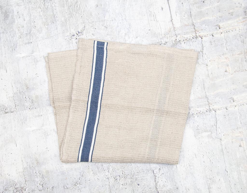 Pokoloko Linen Hand Towel Denim