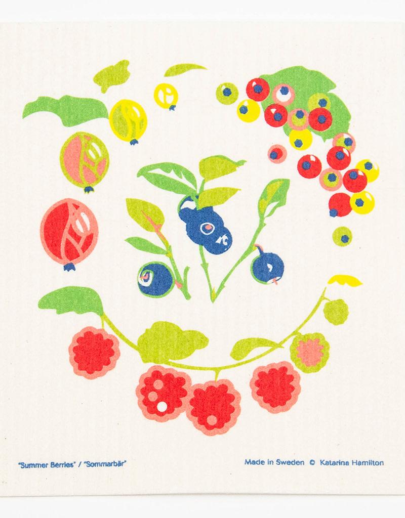 Cose Nuove Swedish Dischcloth Summer Berries