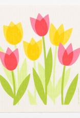 Cose Nuove Swedish Dischcloth Tulip Field