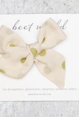 Beetworld Hair Bow Polka Dots