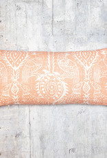 Kreatelier Animal Pillow Coral 10 x 20in