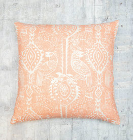 Kreatelier Animal Pillow Coral 18 x 18in