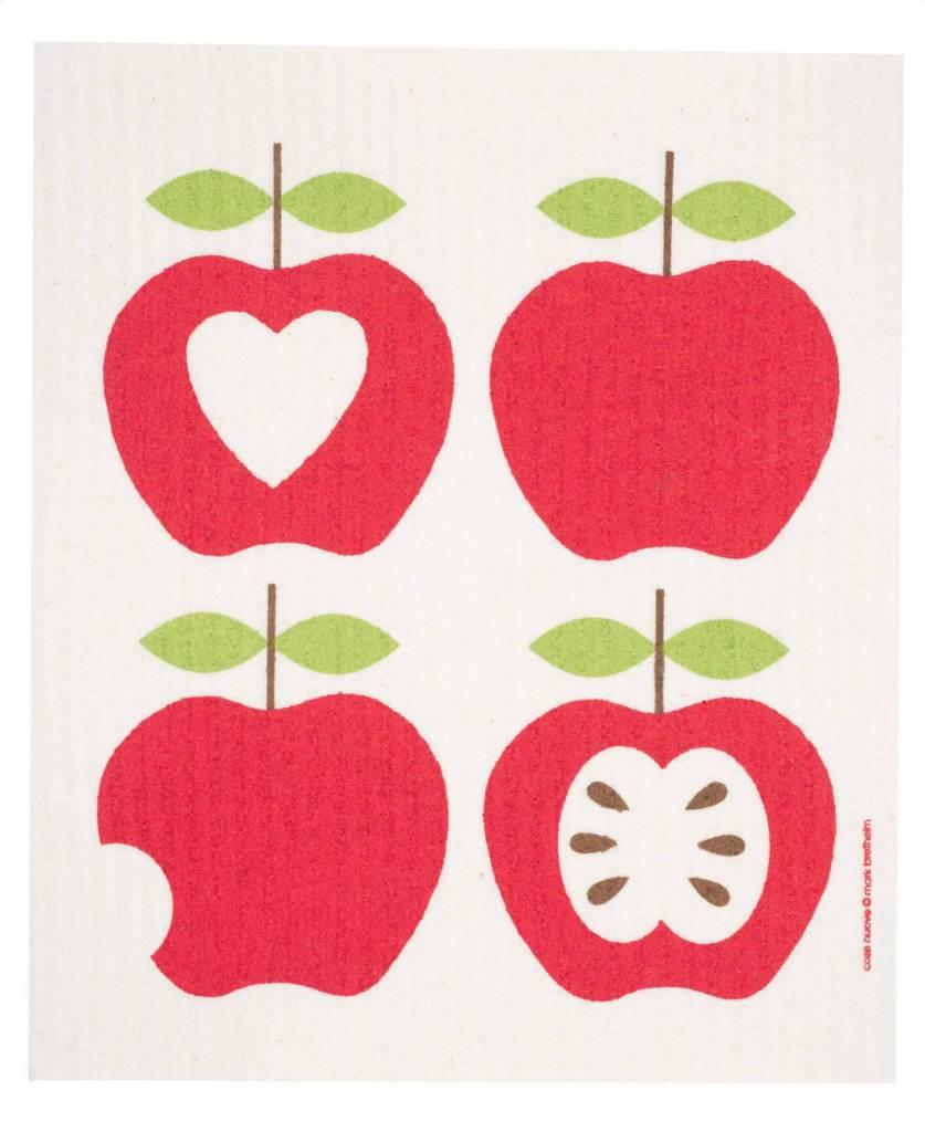 Swedish Dischcloth 4 Apples