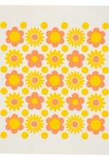 Cose Nuove Swedish Dischcloth Flower Power Yellow