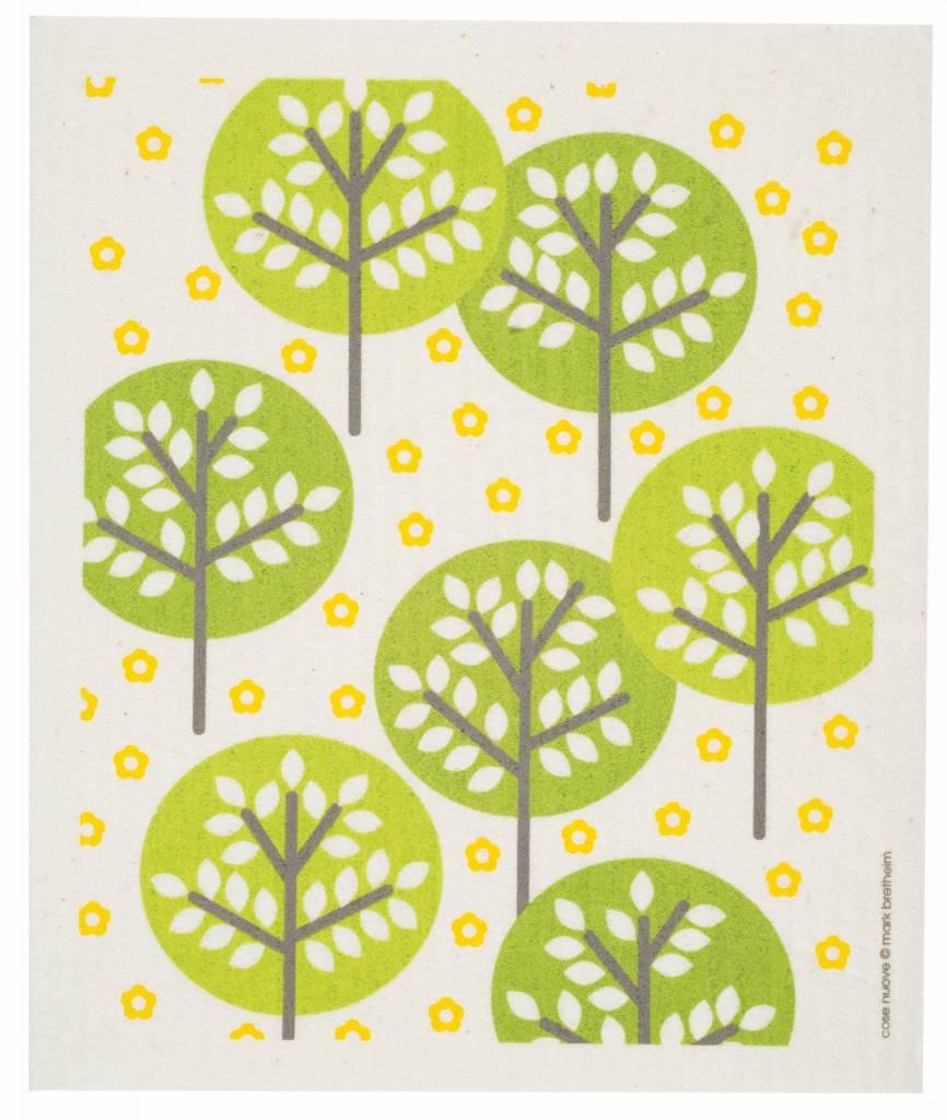 Swedish Dischcloth Forest Green