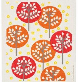 Swedish Dischcloth Forest Orange