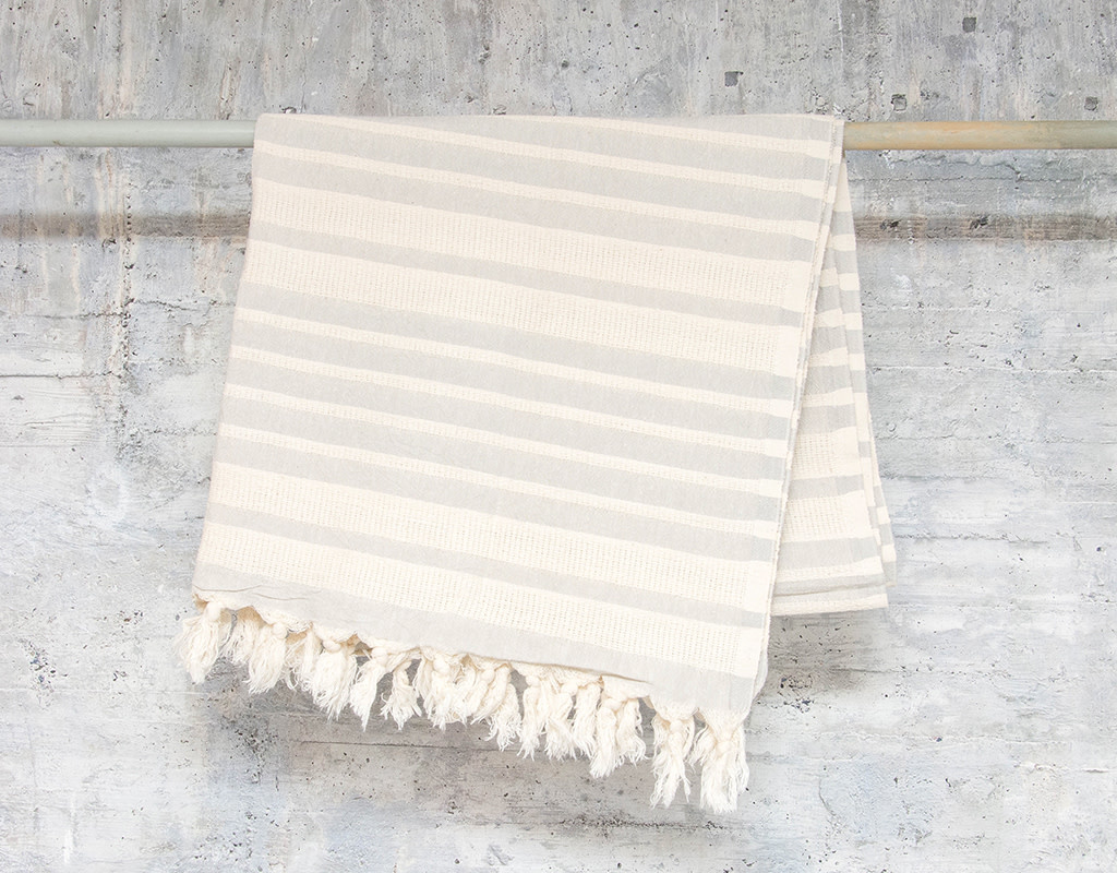 Pokoloko Turkish Towel Shannon Grey
