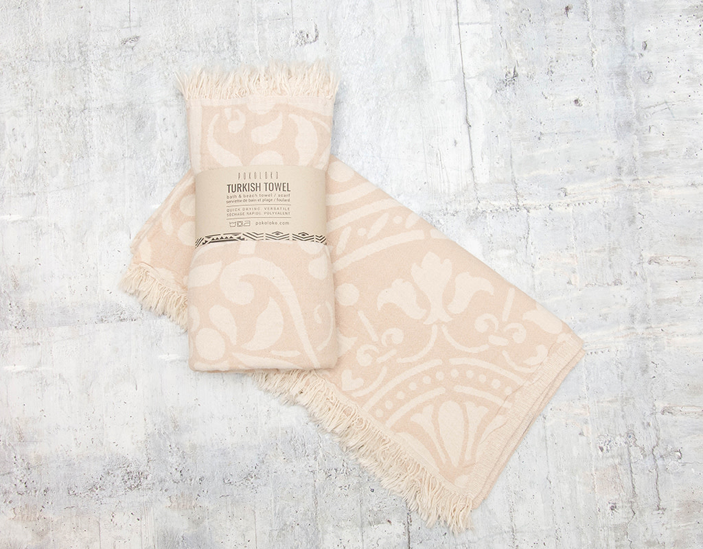 Pokoloko Turkish Towel Leonora Beige