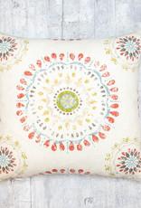 Kreatelier Pillow Mandala Cream 18 x 18in