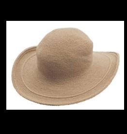 Foxgloves Hat One Size Tan