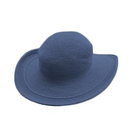 Foxgloves Hat One Size Denim Blue