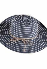 Fraas Striped Hat Denim