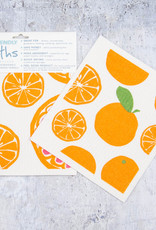 Rockflowerpaper Blu Cloth Set 2 Oranges