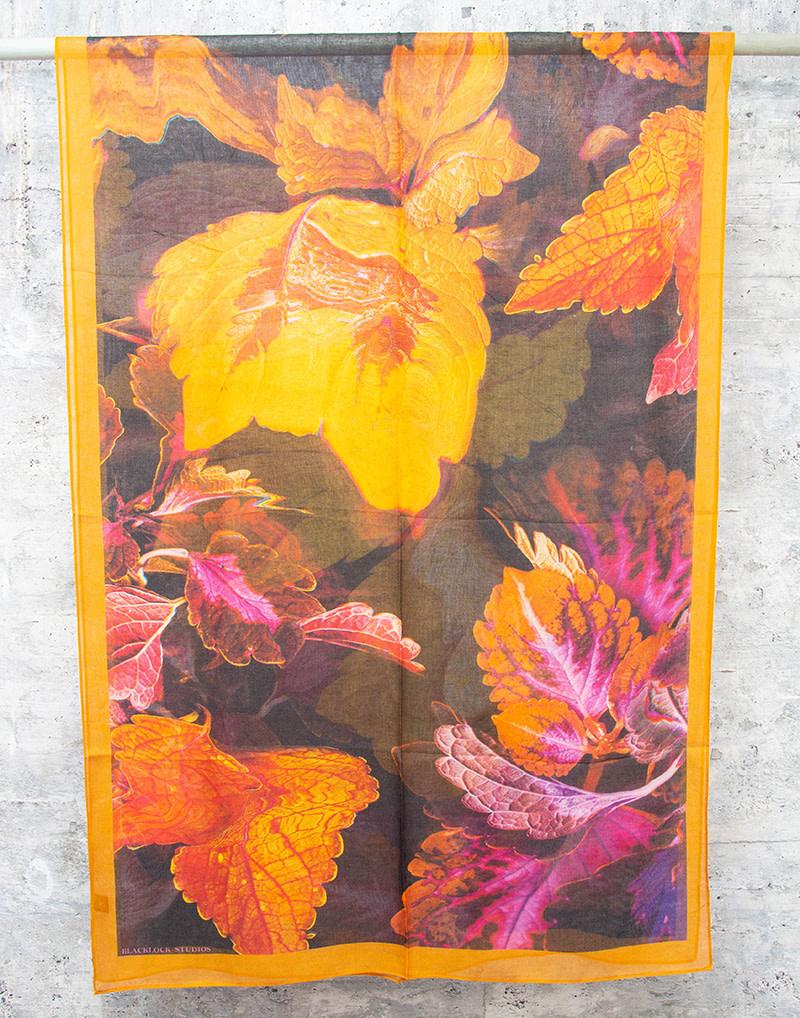 Kate Blacklock Large Coleus Leaf Scarf
