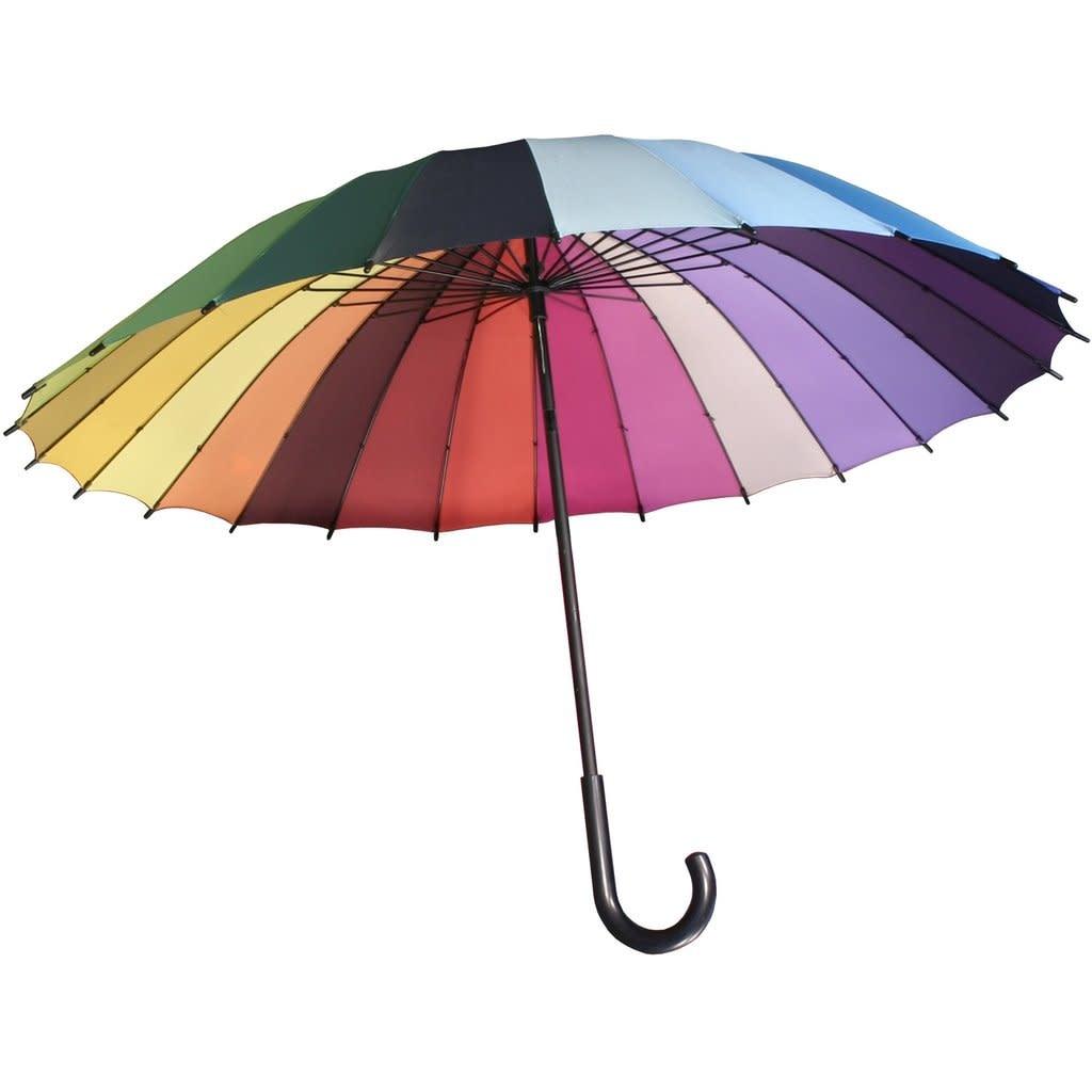 Streamline Rainbow Umbrella
