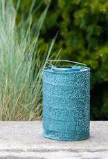 "Allsop Home and Garden Solar Lantern Cylinder Mineral Green 7.5"""