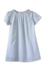 Beetworld Verbena Dress Blue Seersucker