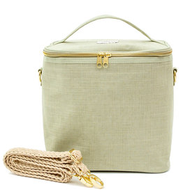 So Young Large Cooler Bag Linen Sage Green