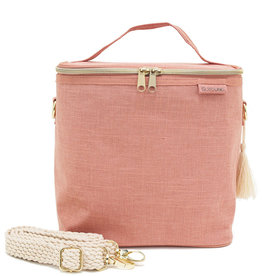 So Young Large Cooler Bag Linen Muted Clay