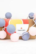 Happy Lights Happy Lights Box Lavender and Light Pink