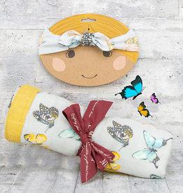 Milkbarn Bundle Butterfly Headband & Big Lovey