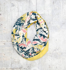 Make Ends Meet Scarf Infinity Abstract Floral