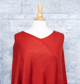 Fraas Triangle Poncho Rust