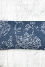 Kreatelier Charvin on Linen Pillow Indigo 18 x 10in