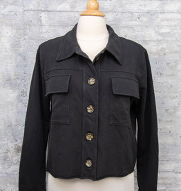 Zenara Short Jacket Black