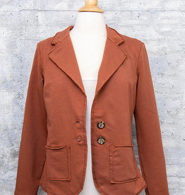 Zenara Short Blazer Maple